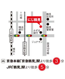 鶴見マップ